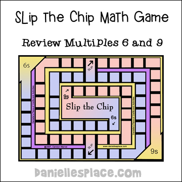 Slip the Chip Math Game