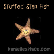Stuffed Starfish Craft