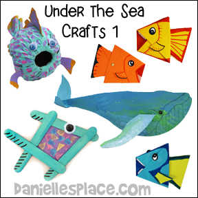 Under-the-sea Crafts from www.daniellesplace.com