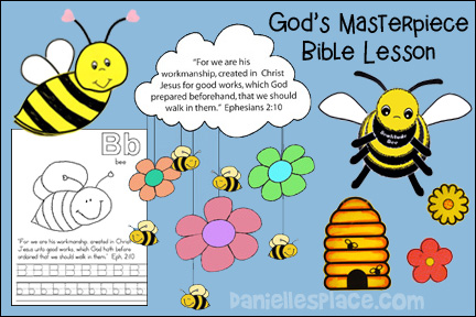 God's Masterpiece Bible Lesson