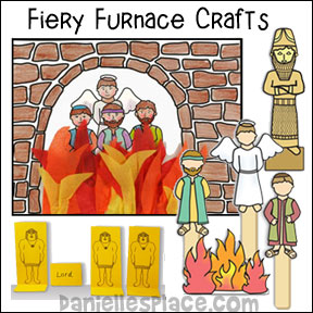 Fiery Furnace Bible Crafts and Activities