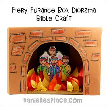 fiery furnace bible activities