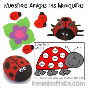 Ladybug Friends Spanish Bible Lesson