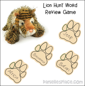 Lion Hund Word Review Game