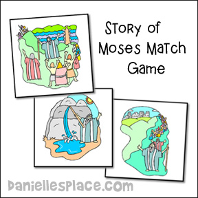 Story of Moses Match Game
