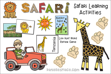 Book Safari African Themed Crafts And Activities