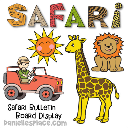 Safari Bulletin Board Display