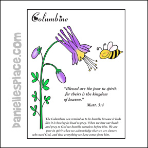 Flower Bible Verse coloring Sheet from www.daniellesplace.com