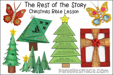 Christmas Story Tree Bible Lesson - The Rest of the Story