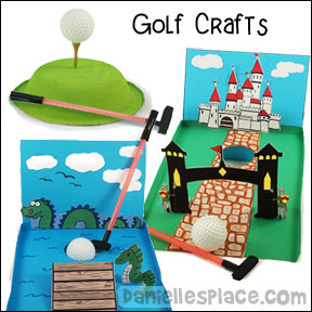 Golf Crafts and Learning Activities for Children