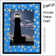Starfish Lighthouse Craft