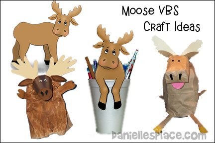 Moose on the Loose VBS Craft Ideas