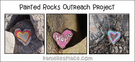 Painted River Rocks Outreach Project and VBS Craft