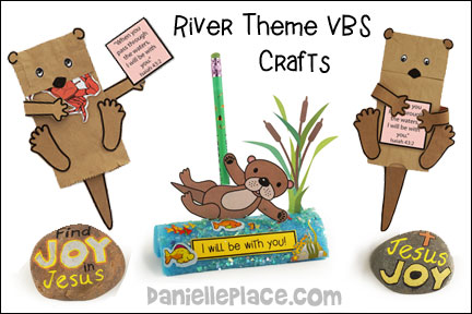 River Adventure VBS Crafts
