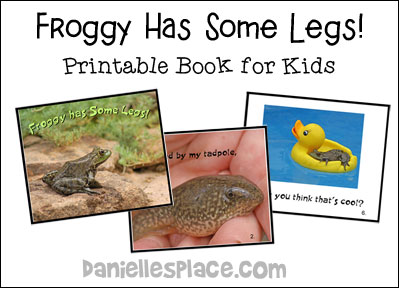 Froggy Has Legs! Printable Book for Children