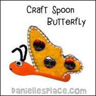 Craft Spoon Butterfly craft