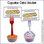Cupcake recipe Card Holder Craft