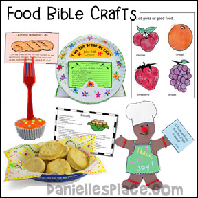Food Bible Crafts for Children