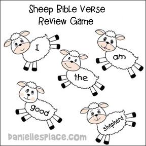 The Good Shepherd Bible Lesson for Children