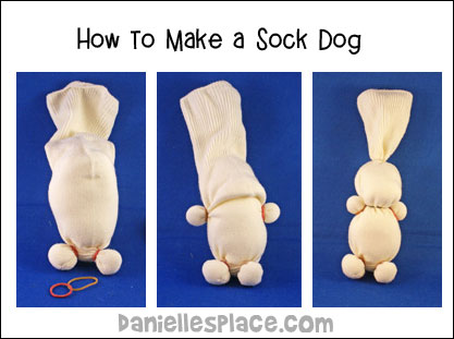 Sock Dog Diagram from www.daniellesplace.com