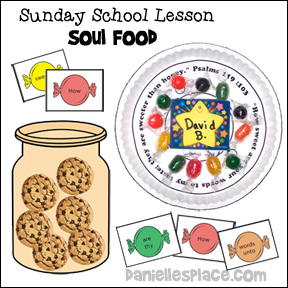 Soul Food Bible Lesson from www.daniellesplace.com