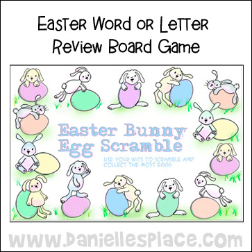 Easter Egg Printable Board Game