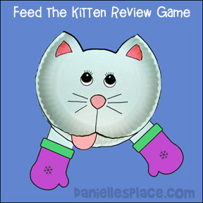 Feed the Kitten Word Review Game