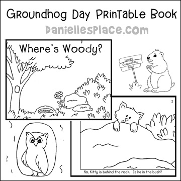 graphic about Groundhog Printable named Groundhog Working day Crafts