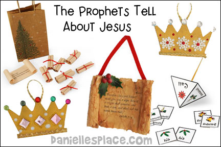 Christmas Story Tree- The Prophets Tell About Jesus Bible Lesson for Children from www.daniellesplace.com