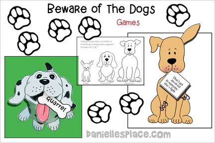 Dog Bible Lesson - ABC, I Believe Lesson for Homeschool class=
