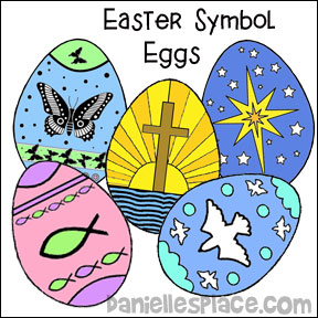 image regarding Resurrection Egg Story Printable named Christian Easter Crafts for Childrens Ministry - Web page 2