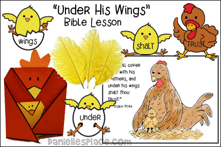 ABC, I Believe Hen Bible Lesson for Homeschool from www.daniellesplace.com