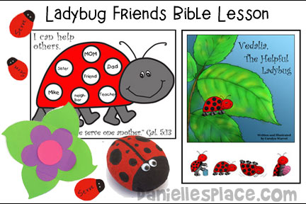 ABC, I Believe - Ladybug Bible lesson for Homeschool from www.daniellesplace.com