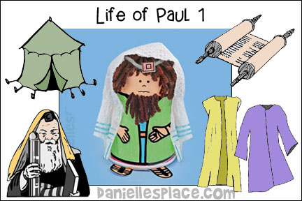 The Life of Paul Bible Lesson 1 - Paul's Early Life from www.daniellesplace.com