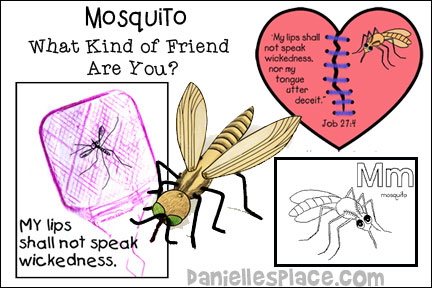 Mosquito Bible Lesson - ABC, I Believe