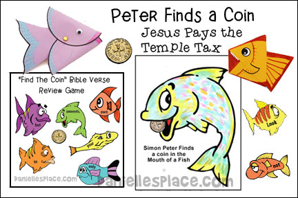 Peter Finds a Coin in the Fish's Mouth Bible Lesson