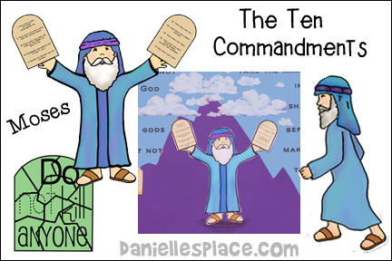 Ten Commandments Bible Lesson For Younger Children from www.daniellesplace.com