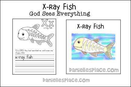 ABC, I Believe - Xray fish  Bible Lesson