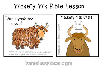 ABC, I Believe - Yak  Bible Lesson