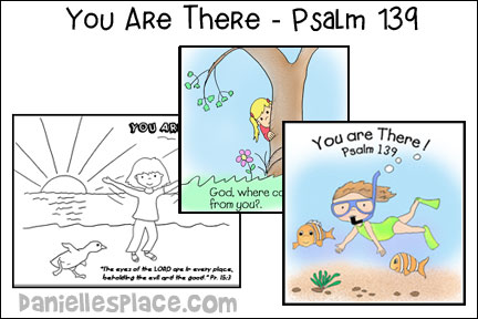 Psalm 139 - Bible Crafts and Activities for Sunday School