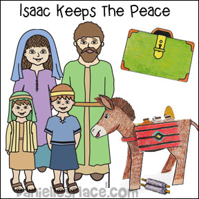 Isaac Keeps the Peace Bible Lesson for Children from www.daniellesplace.com