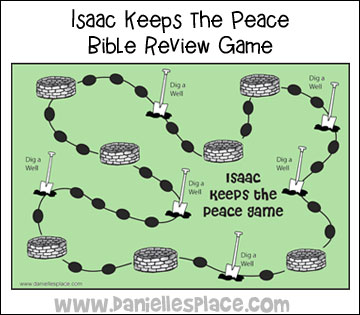 Isaac Keeps the Peace Board Game