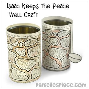 Isaac Keeps the Peace Bible Lesson and Bible Crafts