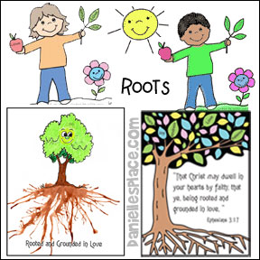 Rooted and Grounded in Love Bible Lesson for Children from www.daniellesplace.com
