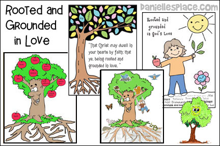 Rooted and Grounded Bible Lesson for Children from www.daniellesplace.com