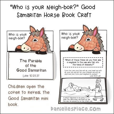 Parable of the Good Samaritan | Preschool bible, Sunday school ... | 432x432