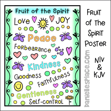 graphic about Fruits of the Spirit Printable known as Fruit of the Spirit Bible Crafts and Bible Game titles For Sunday