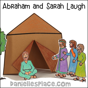 Abraham and Isaac Laugh Bible Lesson and Crafts