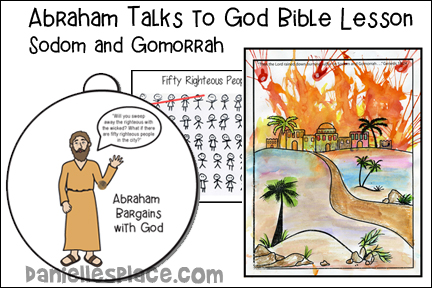 Abraham Talks with God - Sodom and Gomorrah Bible Lesson for Children