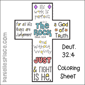 Bible Verse Coloring Sheets Old Testament